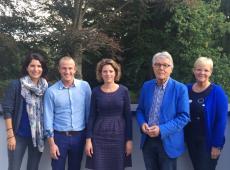 OCMW-voorzitters Kapellen, Kalmthout, Stabroek, Wuustwezel en Essen