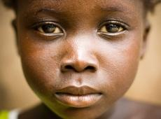 Afrikaans meisje