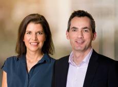 Valerie Van Peel en Lorin Parys