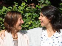 Kathleen Krekels en Valerie Van Peel